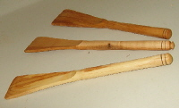 wood turning spatula image