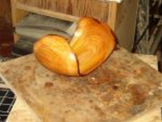 wood turning big wing image