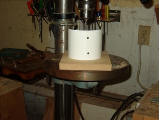 woodturning techniques, building tools, drilling for arm rest