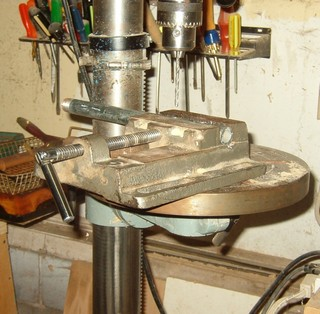 wodturning hollowing equipment, drill for arm rest