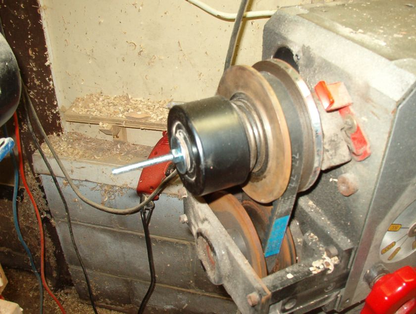 wood turning lathe disassembly