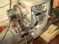 wood lathe motor adjustment