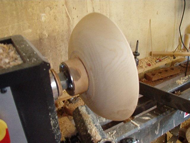 Wood Turning Bowls Finish Turning