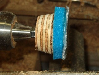 remount on the Jacob's chuck