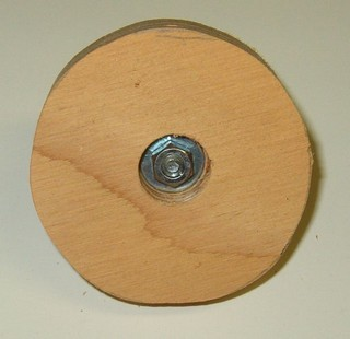 top of rough disk