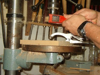 shaping sander with a mcro rasp
