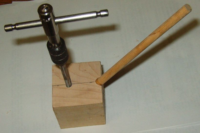 wood turning sharpening jig image