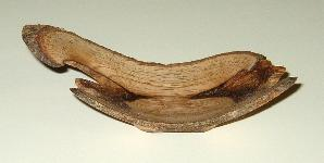woodturning angel wing image
