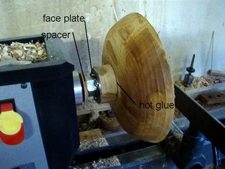 Making wooden bowls Diy Pet Finishing Bowl On The Wood Lathe Revamping Making Wooden Bowls From Firewood To Finished