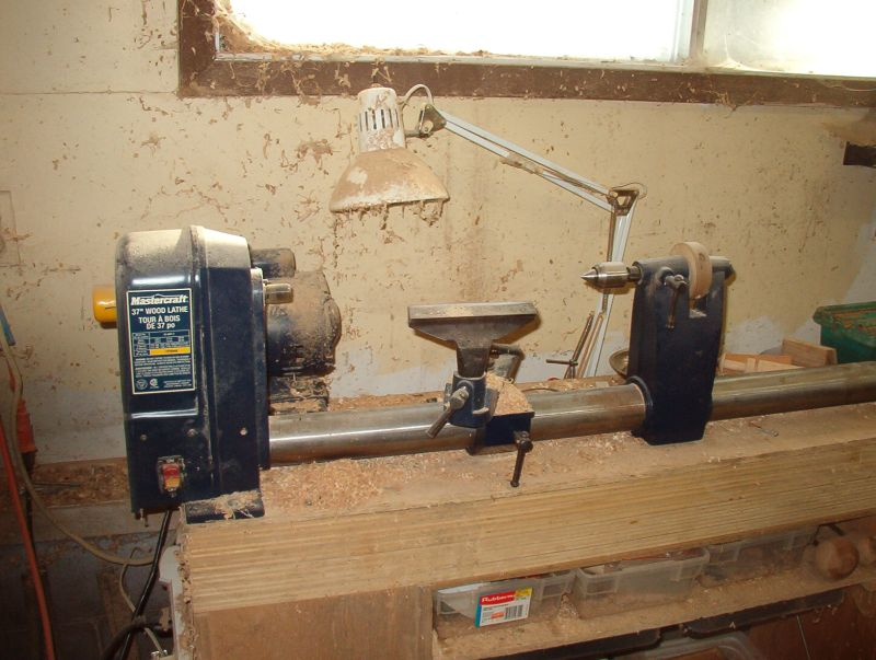 Single Tube Or Monotube Wood Lathe
